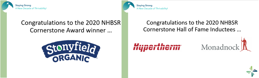 nh cornerstone award wingers environmental consulting business